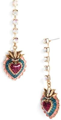 Viva La Betsey Heart Earrings