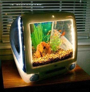 Mac Housing Fish Tank