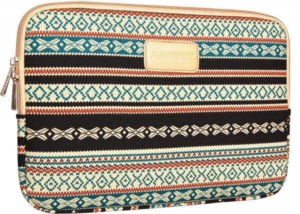 Dachee 2014 New Bohemian Style Canvas Fabric 13 Inch Laptop Sleeve