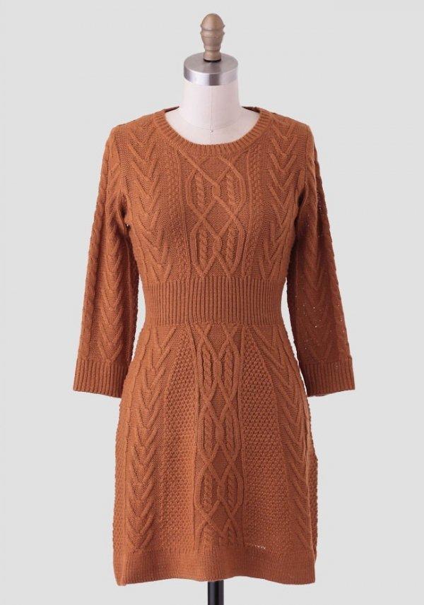 Lost in Love Sweater Dress