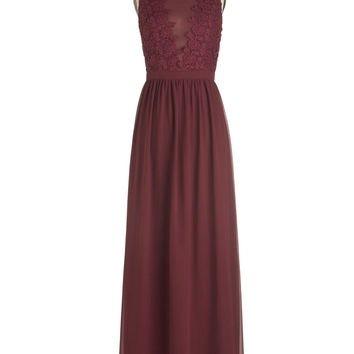 Chi Chi London Long Sleeveless Maxi Elegance Again Dress