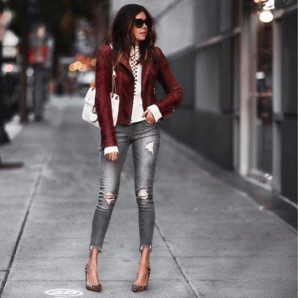 clothing, leather, footwear, jacket, fashion,