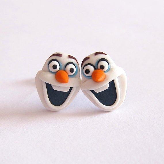 Olaf Earrings