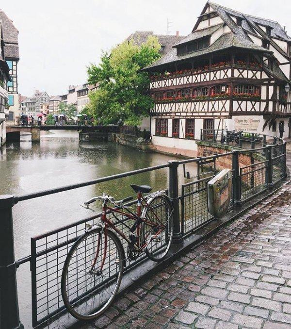 Maison des Tanneurs, Strasbourg, transport, waterway, vehicle,