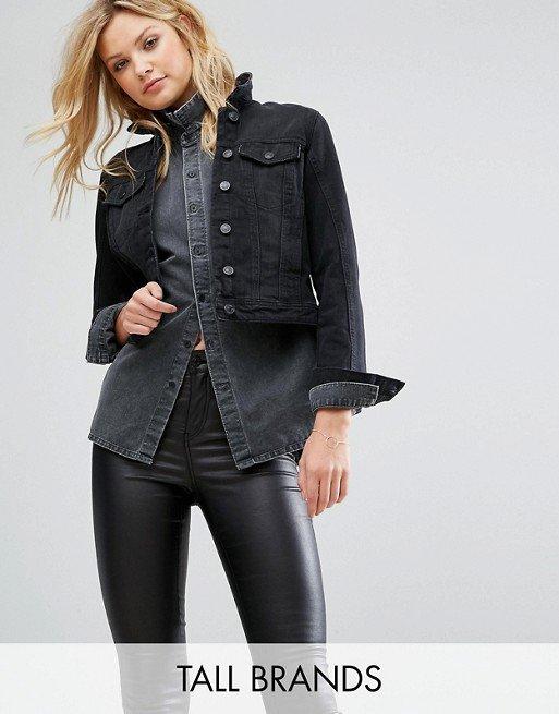 clothing, jacket, leather, sleeve, denim,