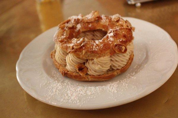 dessert, food, baked goods, banoffee pie, danish pastry,
