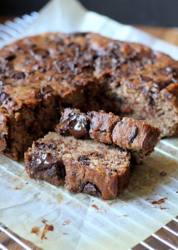 Paleo Chocolate Chunk Banana Bread