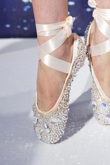 Swarovski Crystal Ballerina Shoes