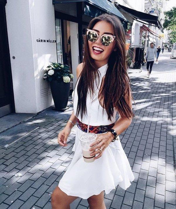 white, clothing, snapshot, footwear, dress,