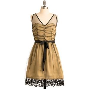 Golden Gumption Dress