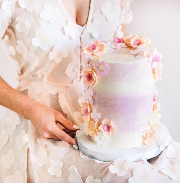 pink, wedding cake, flower, petal, flower bouquet,