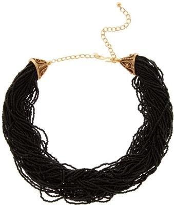 Kenneth Jay Lane Multi Strand Beaded Necklace