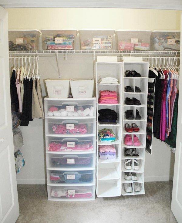 Total Closet Makeover