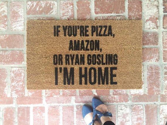 brick, wall, lFYOURE, PIZZA,, RYAN,