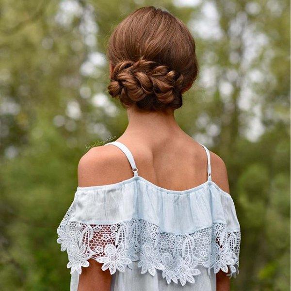 clothing, hair, hairstyle, dress, toddler,