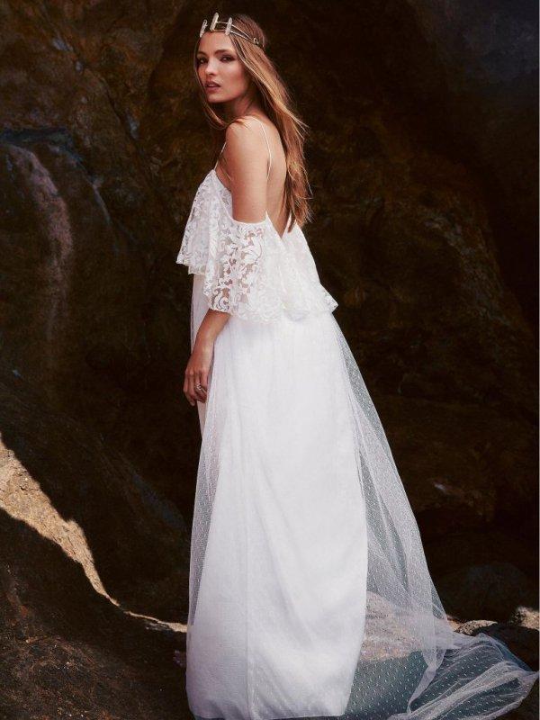 wedding dress, dress, white, clothing, bridal accessory,