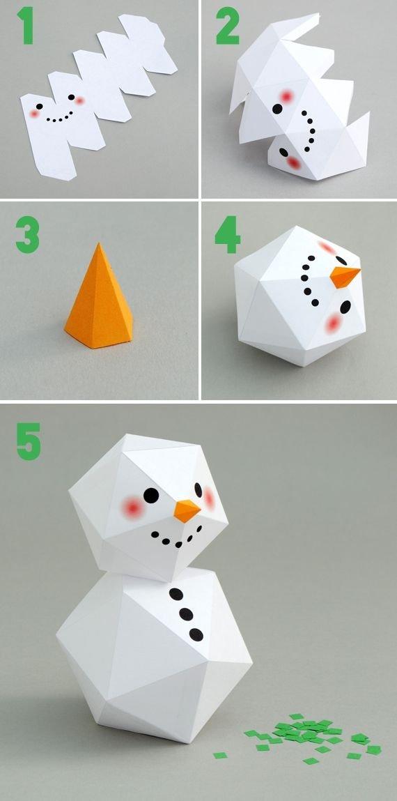 Geometric Snowman