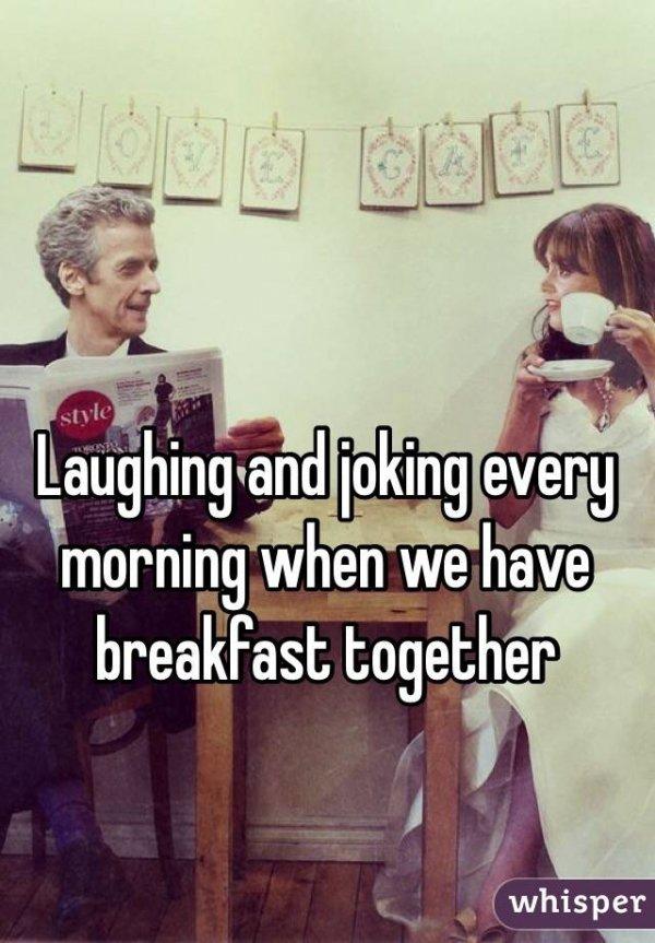 Joking & Laughing