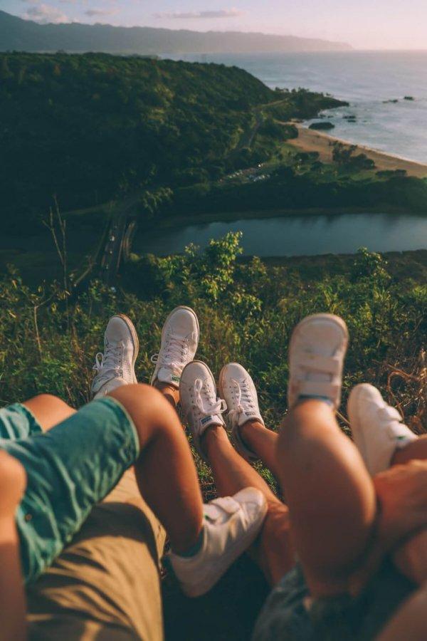Summer, Sky, Vacation, Leg, Friendship,