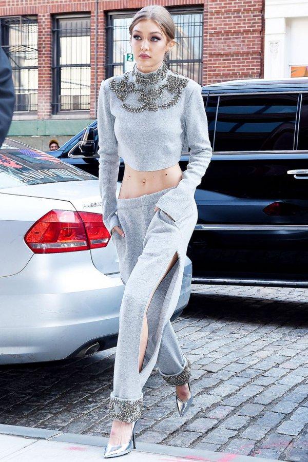 Clothing, White, Street fashion, Fashion, Crop top,