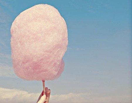 Cotton Candy = Summer Carnivals