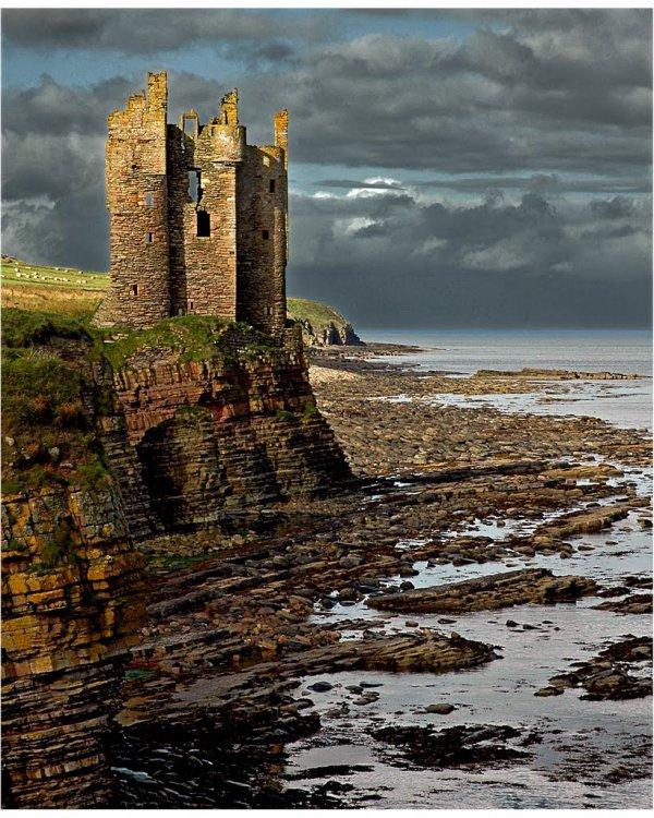 sea, water, castle, waterway, coast,