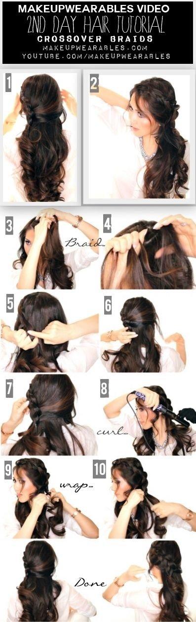 Crossover Braid Tutorial Video