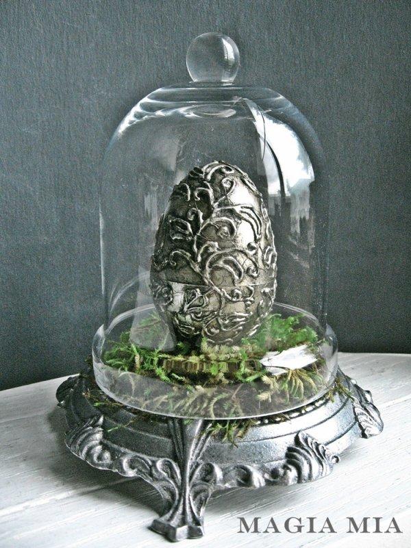 Silver Leaf Egg