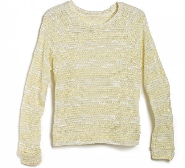 MARSHALLS Ivory Knit Sweater