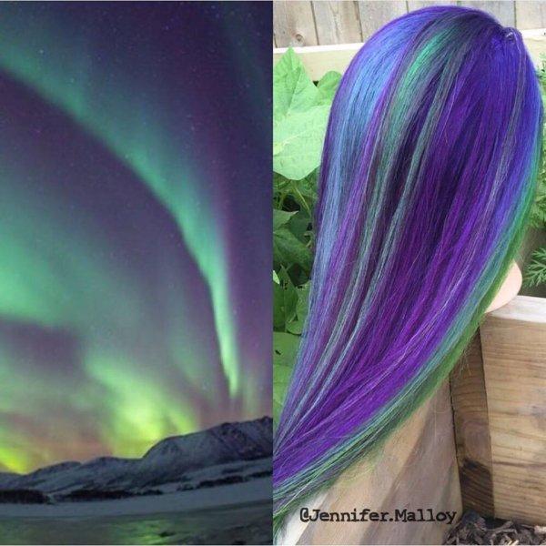 Northern Lights Interpretation by Jennifer Malloy