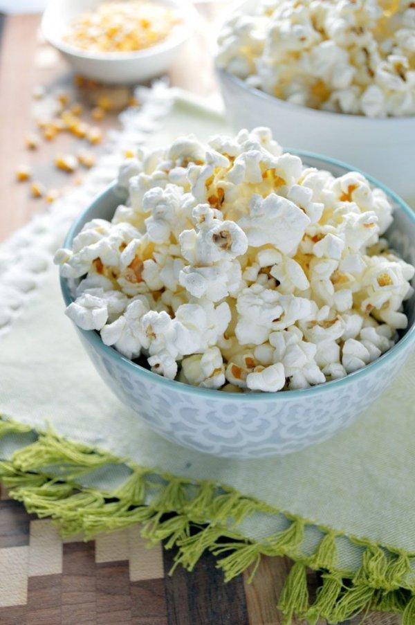 Rosemary Garlic Popcorn