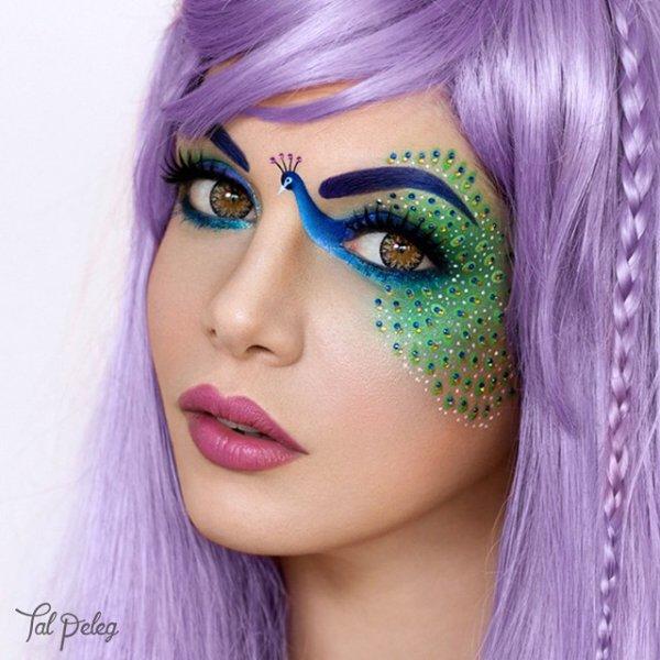 color,face,hair,purple,pink,