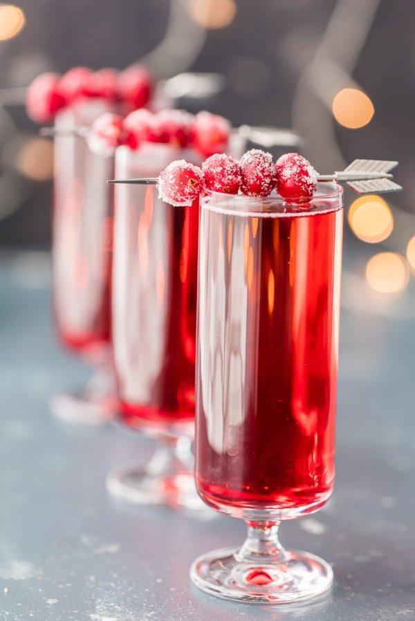red drink alcoholic beverage cocktail petal - Best Christmas Cocktails
