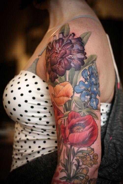Flor 30 Tatuajes Hará Que Quieres Un Poco De Tinta Nuevo