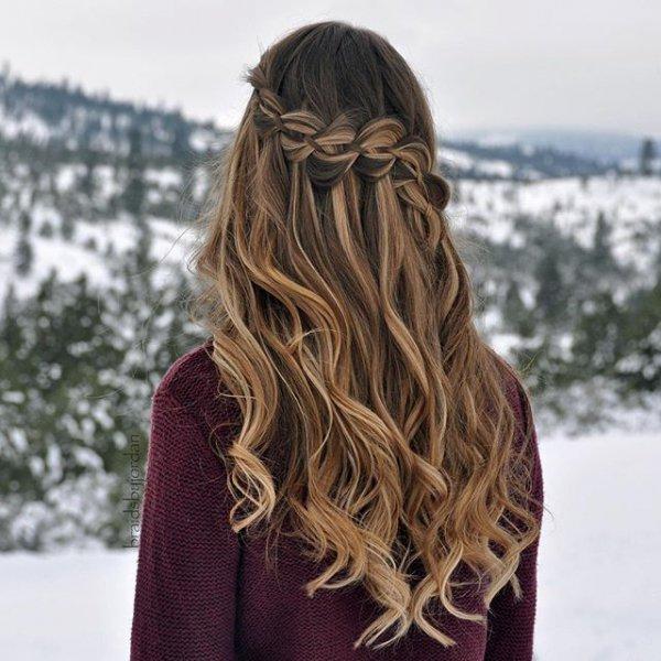 clothing, hair, hairstyle, long hair, brown,