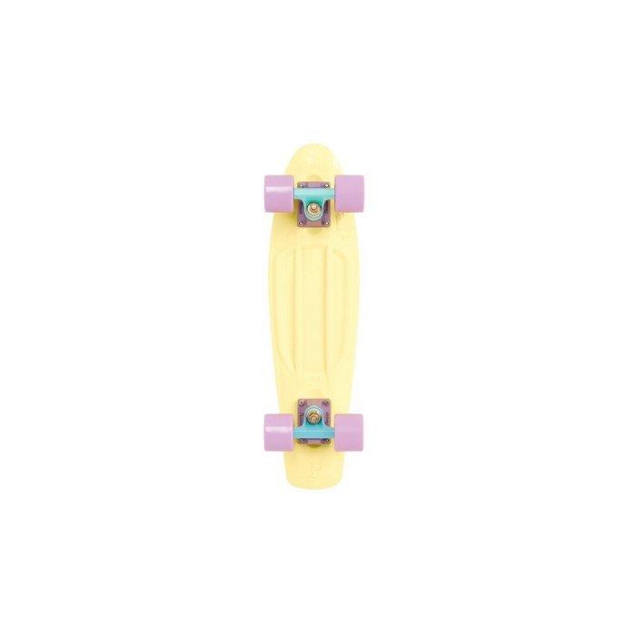 Penny Pastel Skateboard, 22-Inch, Lemon/Mint/Lilac