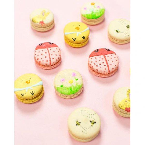 food, dessert, icing, cake decorating,