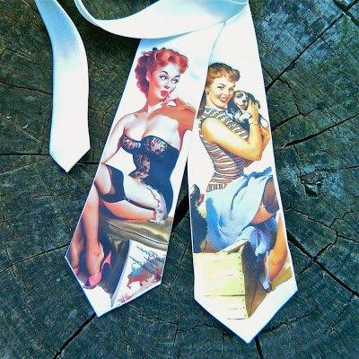 Rockabilly Neckties