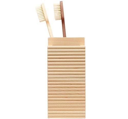 Hinoki Toothbrush Holder