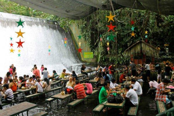 Labassin Waterfalls Restaurant - San Pablo City, Philippines