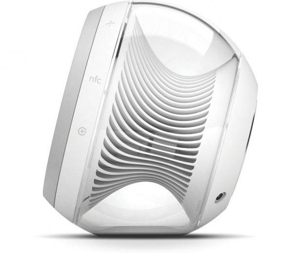 NOVA Wireless Stereo Speakers, White