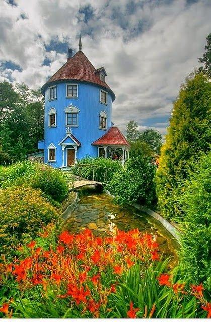 Moomin World,flower,meadow,garden,rural area,