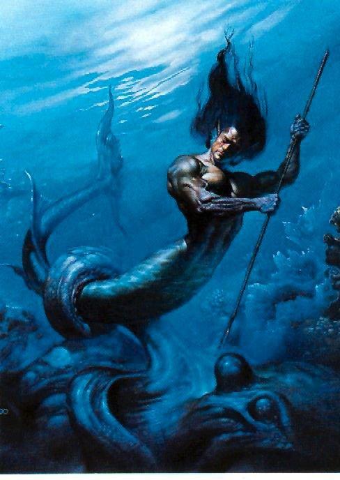 Triton - the Messenger of the Big Sea
