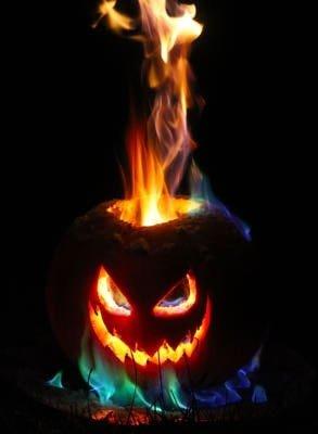 Flame Thrower Jack O Lantern