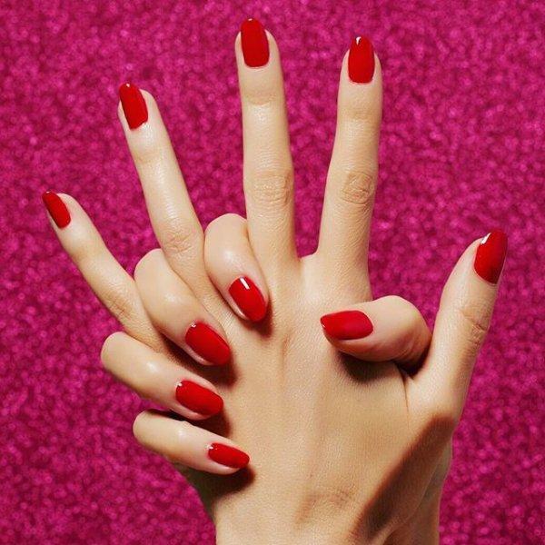 finger, hand, nail, manicure, petal,