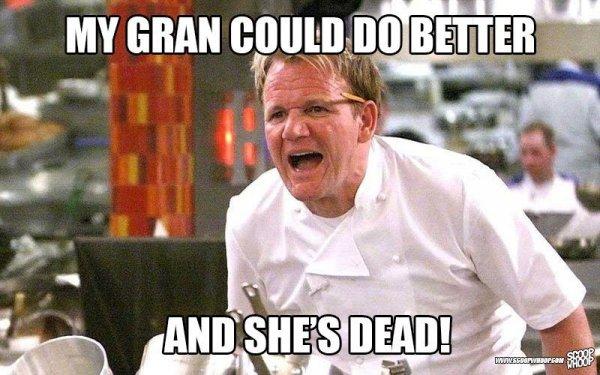 Chef, Photo caption, Cooking show, Internet meme, Cuisine,