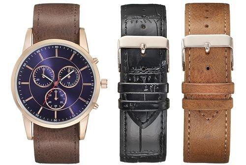 watch, watch strap, brown, watch accessory, strap,