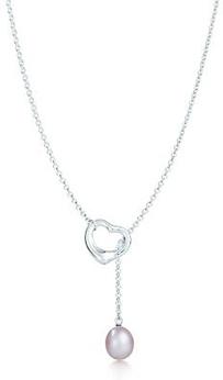 Tiffany elsa peretti open heart lariat 8 pretty pearl necklaces tiffany elsa peretti open heart lariat aloadofball Images
