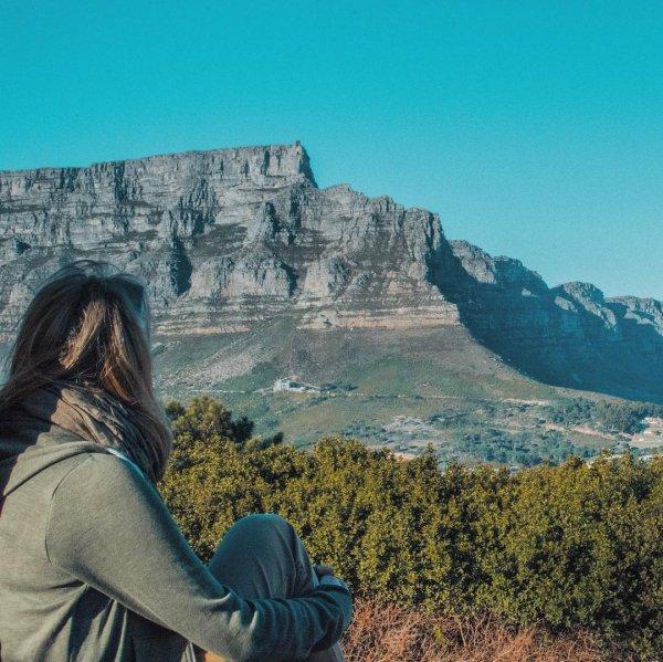 Mountainous landforms, Sky, Mountain, Blue, Wilderness,