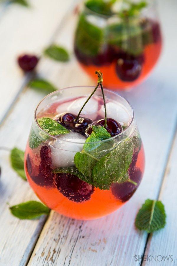 Cherry Limoncello Spritz